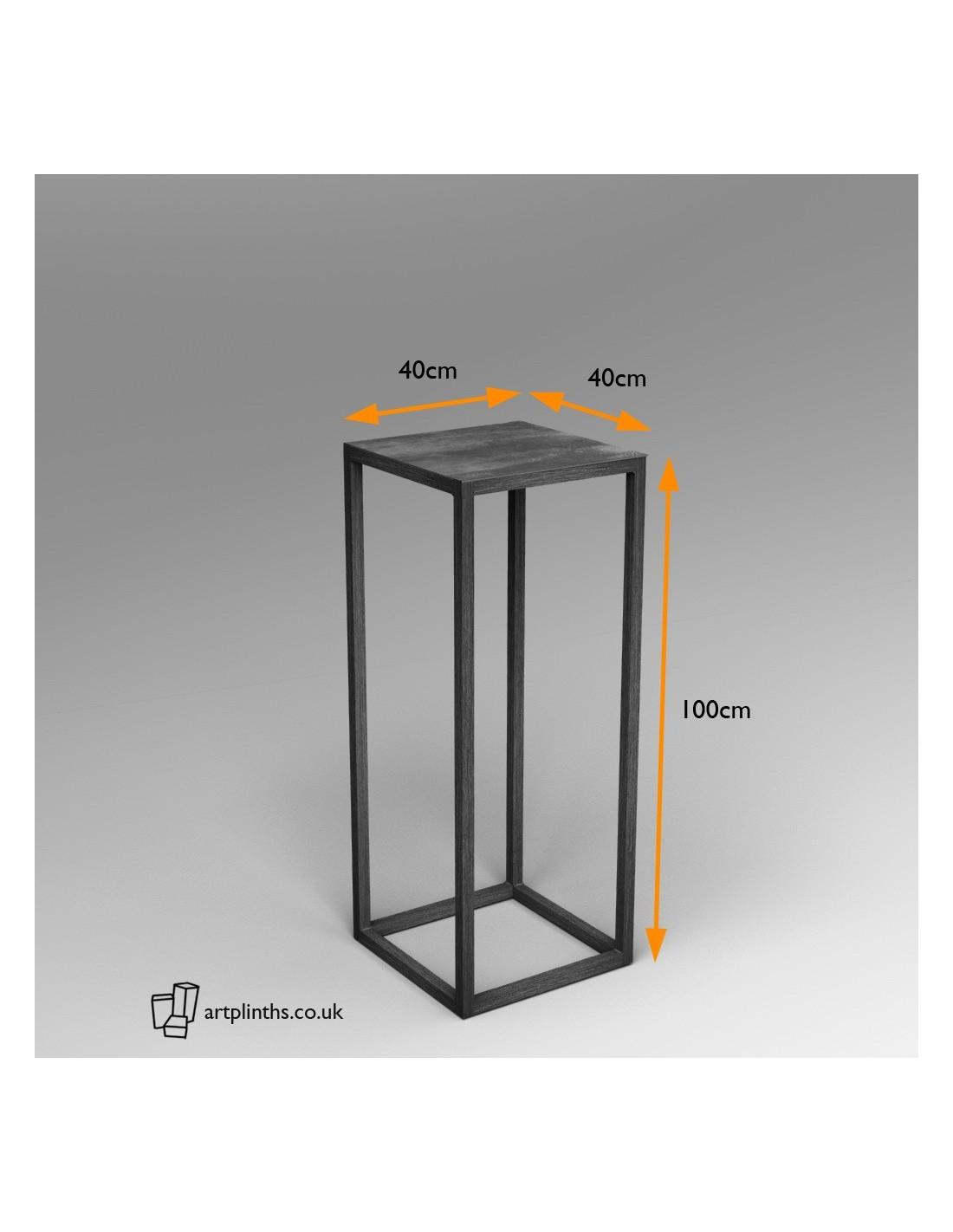 steel frame plinth hire london uk metal display. Black Bedroom Furniture Sets. Home Design Ideas