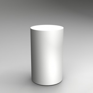Cylinder Plinth 100H x 60Dcm Hire