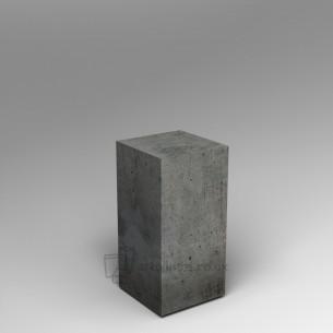 Concrete plinth 80H x 40W x 40D cm SALE