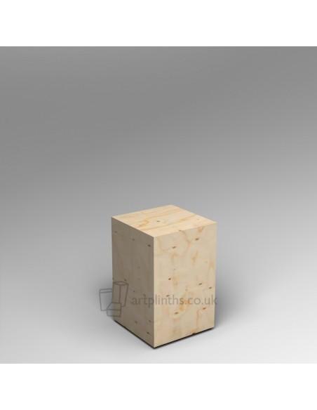 Spruce Ply plinth  60H x 40W x 40D cm SALE