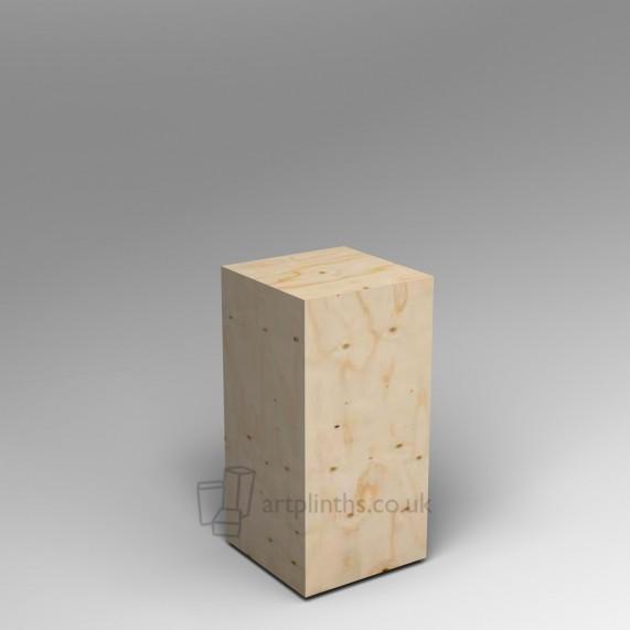 Spruce Ply plinth  80H x 40W x 40D cm SALE