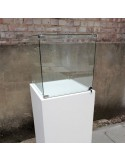 SALE Glass Display Case 55cm locking
