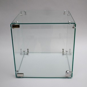 SALE Glass Display Case 35cm locking