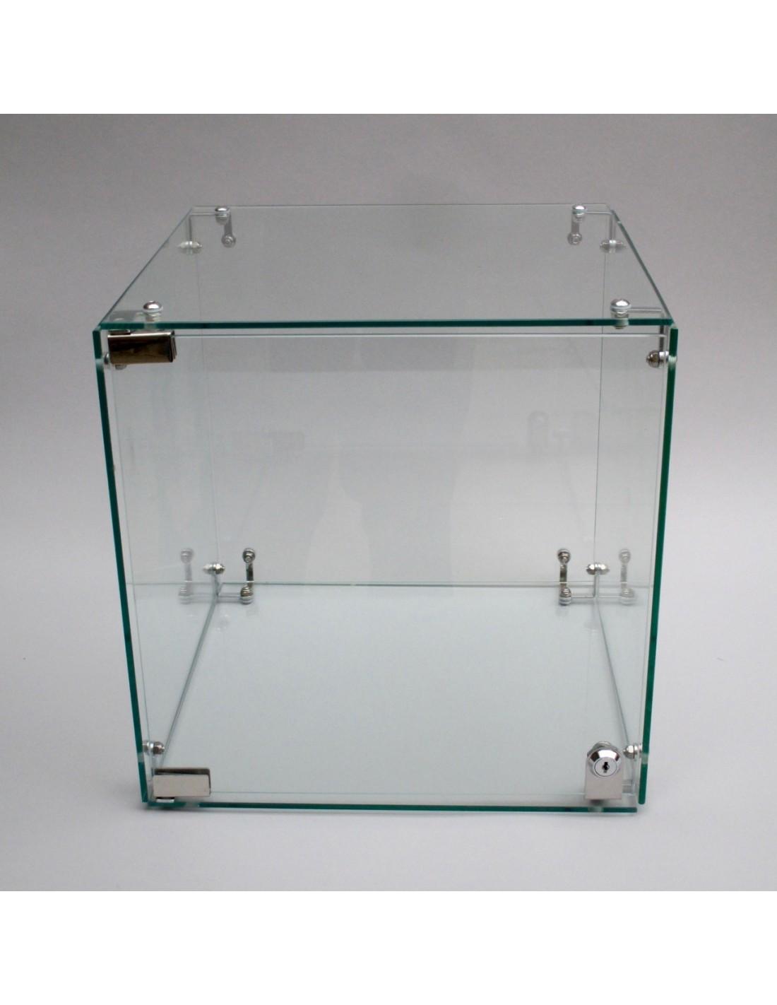 198d353b8e5 Glass Display Case with Locking door. Art plinths Jewellery case