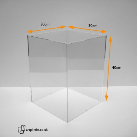 HIRE Display Case 40H x 30WD cm  Acrylic