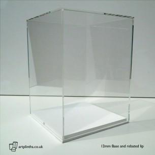 Acrylic Display Case Hire 40H x 30WD cm