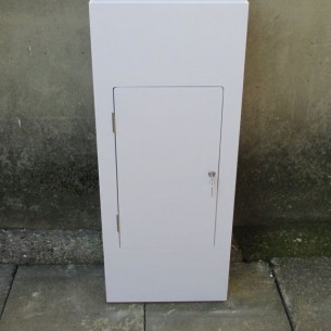Plinth 100H X 40W X 40D with locking door HIRE
