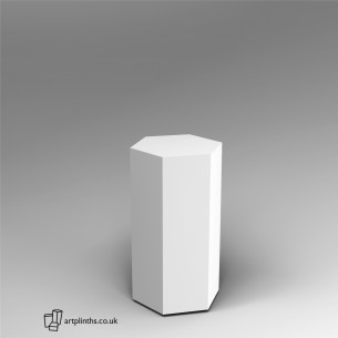 Hexagon Plinth 80H x 40W cm SALE