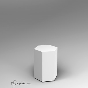 Hexagon Plinth 60H x 40W cm SALE