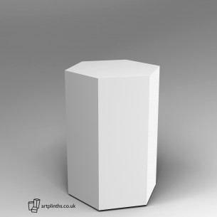 Hexagon Plinth 100H x 60W cm SALE