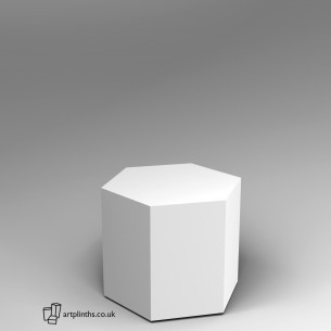 Hexagon Plinth 60H x 60W cm SALE