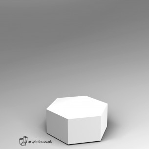 Hexagon Plinth 30H x 60W cm SALE