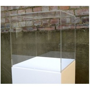 40cm³ Perspex® Acrylic Display Case Hire