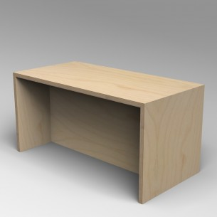 Gallery Bench 3 Birch Ply 3 Seater