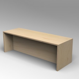 Gallery Bench 5 Birch Ply 5 Seater