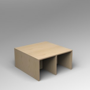 Gallery Bench 4 | Birch Ply |  4 Seater