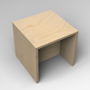 Gallery Bench 1 Birch Ply 1 Seater