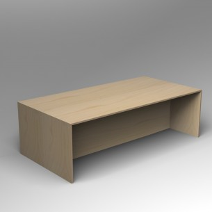 Gallery Table Birch Ply Minimal