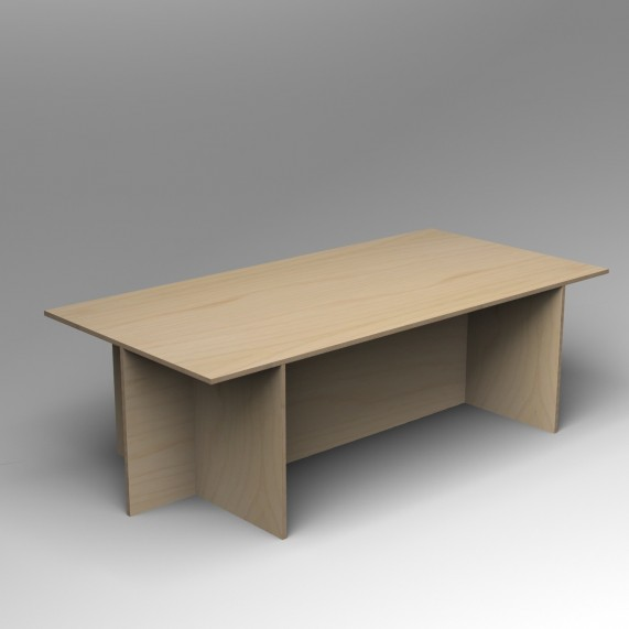 Gallery Table | Birch Ply | Inset base