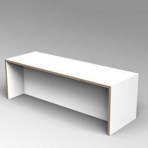 Gallery Bench 5 Colour Ply 5 Seater