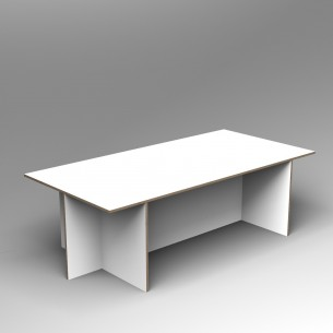 Gallery Table | Colour Ply | Inset base