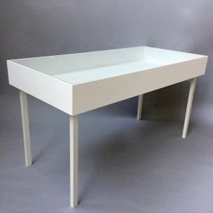 Vitrine Table Display Case Painted SALE