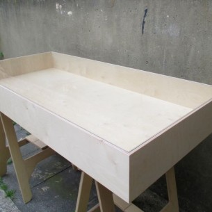 Vitrine Table Display Case Birch Plywood SALE