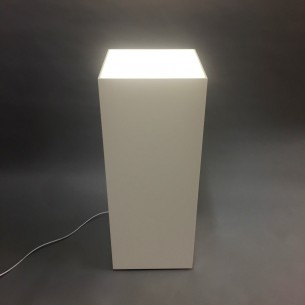 Light-box Plinth 100H x 40W x 40D cm SALE