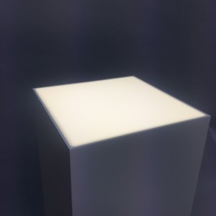 Light-box Plinth 120H x 40W x 40D cm SALE