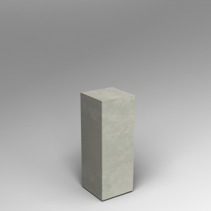 Concrete effect 80H x 30W x 30D cm plinth SALE