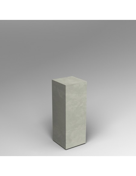 Concrete effect plinth 80H x 30W x 30D cm SALE