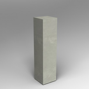 Concrete effect  120H x 30W x 30D cm plinth SALE