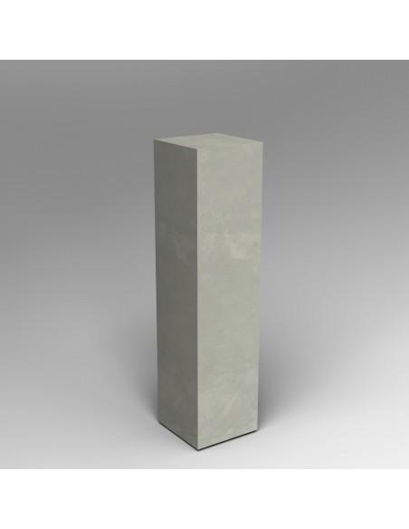 Concrete Effect plinth 120H x 30W x 30D cm SALE