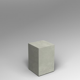 Concrete effect 60H x 40W x 40D cm plinth SALE