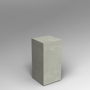 Concrete effect 80H x 40W x 40D cm plinth SALE