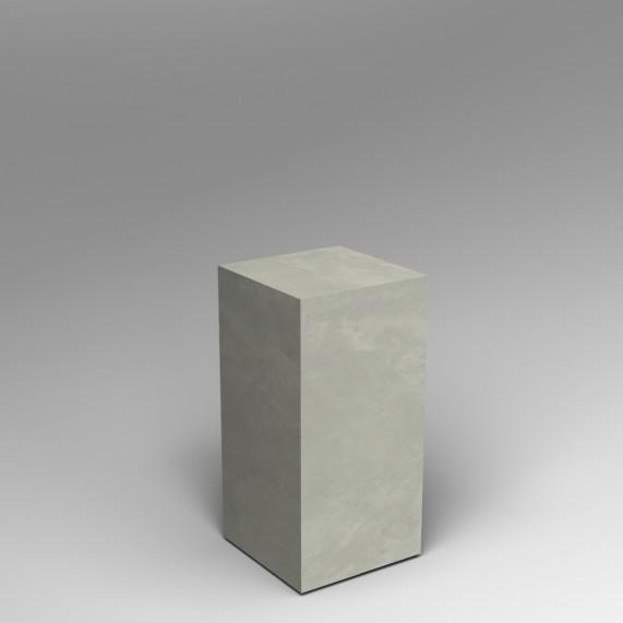 concrete finish plinth 80H x 40W x 40D cm SALE