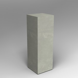 Concrete effect 120H x 40W x 40D cm plinth SALE