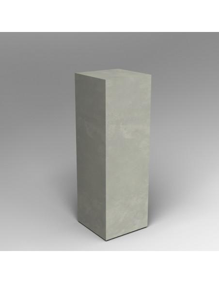 Concrete finish plinth 120H x 40W x 40D cm SALE