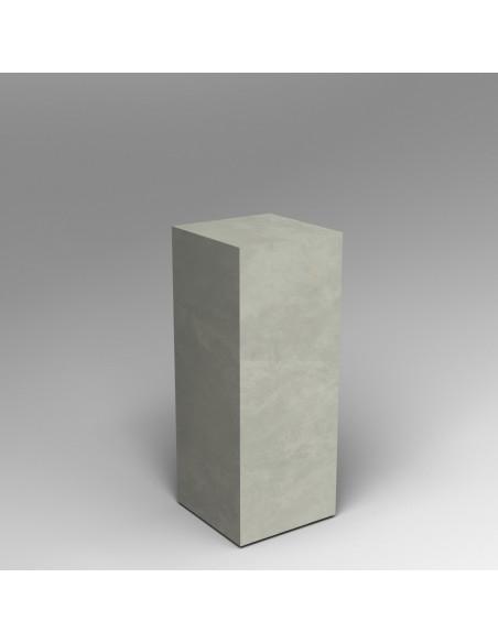 Concrete Finish plinth 100H x 40W x 40D cm SALE