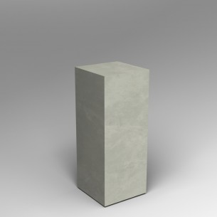 Concrete effect 100H X 40W X 40D Plinth HIRE