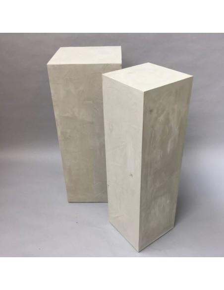 Concrete effect  plinth 100H x 30W x 30D cm SALE