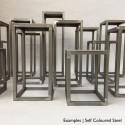 Steel frame plinth 100H x 40W x 40W cm