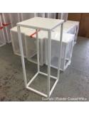 Steel frame plinth 100H x 30W x 30W cm