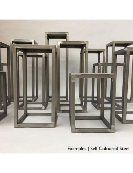 Steel frame plinth 80H x 30W x 30W cm
