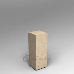 Spruce ply plinth  100H x 30W x 30D SALE