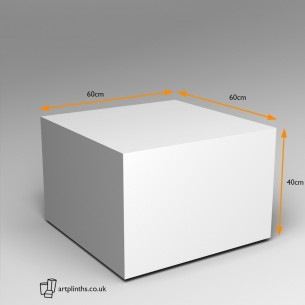 EX Hire Plinth 40H x 60W x 60D cm ON SALE