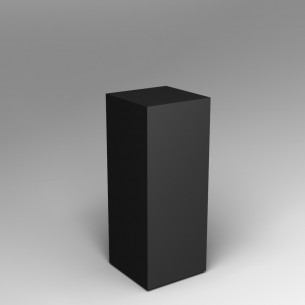 ON SALE Black Plinth 100H X 40W X 40D EX HIRE