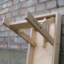 Folding Birch Ply Bench