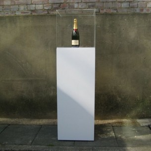Plinth & Perspex case 100H X 40WD  HIRE