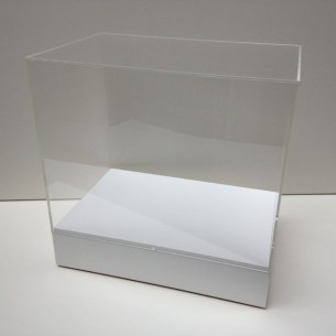 Table top plinth and display case
